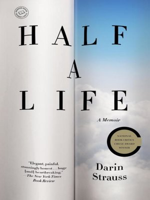Click this cover for a(n) eBook sample of Half a Life.