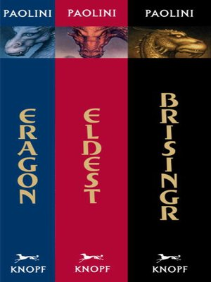 Click this cover for a(n) eBook sample of Inheritance Cycle Omnibus