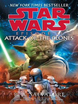 Click this cover for a(n) eBook sample of Attack of the Clones