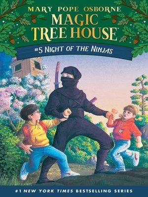 Click this cover for a(n) eBook sample of Night of the Ninjas.
