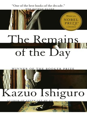 Click this cover for a(n) eBook sample of The Remains of the Day.