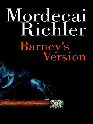 Click this cover for a(n) eBook sample of Barney's Version.