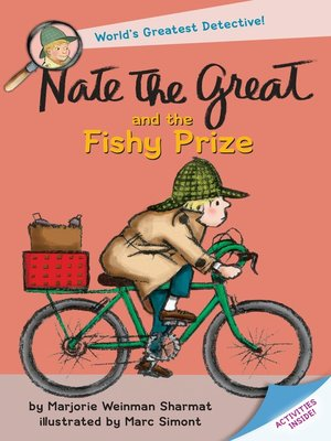 Click this cover for a(n) eBook sample of Nate the Great and the Fishy Prize
