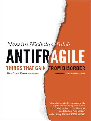 Click this cover for a(n) eBook sample of Antifragile.