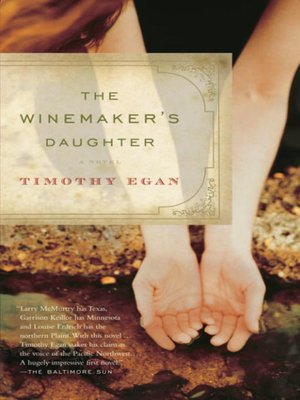 Click this cover for a(n) eBook sample of The Winemaker's Daughter