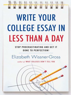 Writing the Scholarship Essay: by Kay Peterson, Ph D
