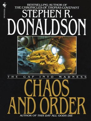 Cover of Chaos and Order: The Gap Into Madness