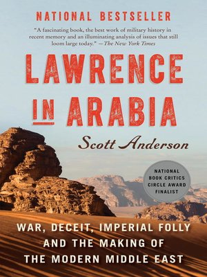 Click this cover for a(n) eBook sample of Lawrence in Arabia.