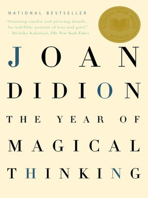 Click this cover for a(n) eBook sample of The Year of Magical Thinking