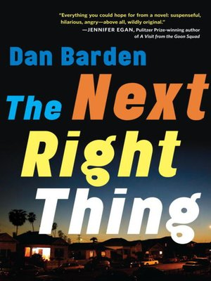 Click this cover for a(n) eBook sample of The Next Right Thing.