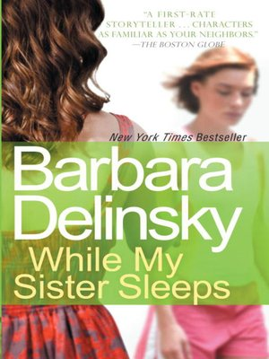 Click this cover for a(n) eBook sample of While My Sister Sleeps.