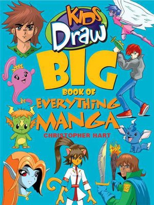 Click this cover for a(n) eBook sample of Kids Draw Big Book of Everything Manga.