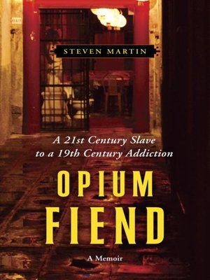Click this cover for a(n) eBook sample of Opium Fiend
