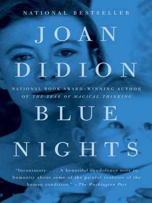 Click this cover for a(n) eBook sample of Blue Nights.