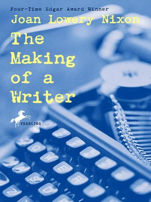 Click this cover for a(n) eBook sample of The Making of a Writer.