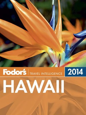 Click this cover for a(n) eBook sample of Fodor's Hawaii 2014