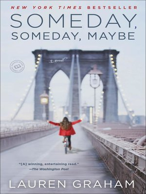 Click this cover for a(n) eBook sample of Someday, Someday, Maybe.