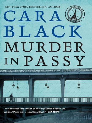 Click this cover for a(n) eBook sample of Murder in Passy.