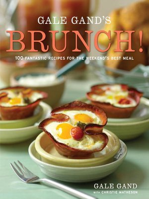 Click this cover for a(n) eBook sample of Gale Gand's Brunch!.