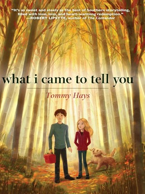 Click this cover for a(n) eBook sample of What I Came to Tell You.