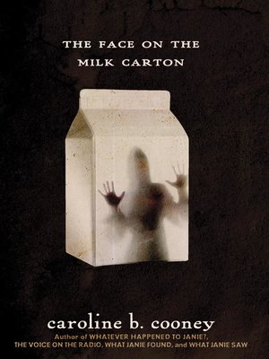 Cover of The Face on the Milk Carton
