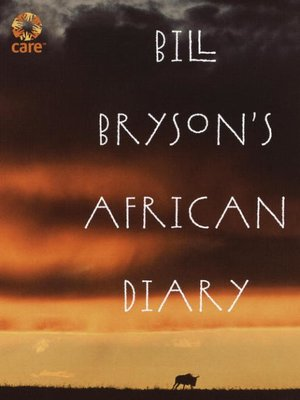 Click this cover for a(n) eBook sample of Bill Bryson's African Diary.