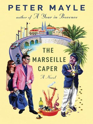 Click this cover for a(n) eBook sample of The Marseille Caper.