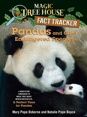 Click this cover for a(n) eBook sample of Pandas and Other Endangered Species