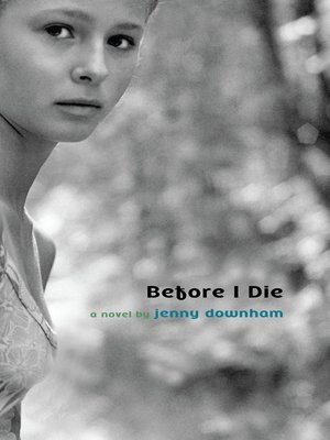 Click this cover for a(n) eBook sample of Before I Die.
