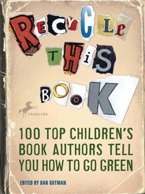Click this cover for a(n) eBook sample of Recycle this Book.