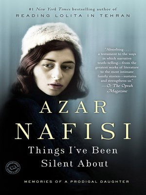 Click this cover for a(n) eBook sample of Things I've Been Silent About