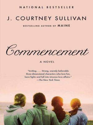 Click this cover for a(n) eBook sample of Commencement.