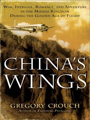 Click this cover for a(n) eBook sample of China's Wings