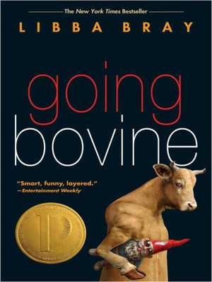 Click this cover for a(n) eBook sample of Going Bovine
