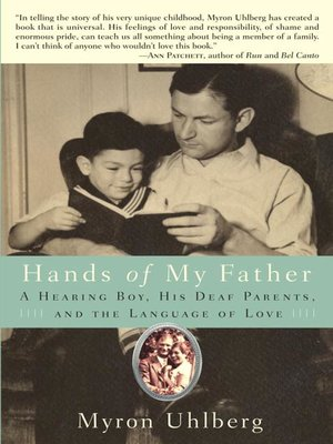 Click this cover for a(n) eBook sample of Hands of My Father.