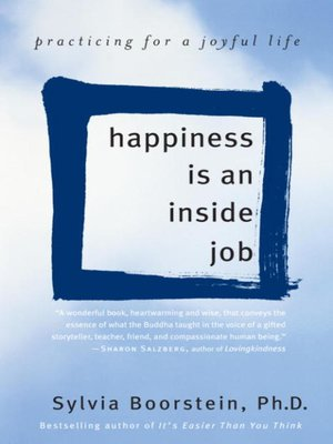Click this cover for a(n) eBook sample of Happiness Is an Inside Job.