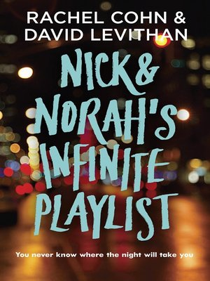 Click this cover for a(n) eBook sample of Nick & Norah's Infinite Playlist
