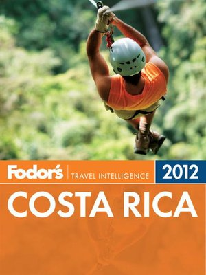 Cover of Fodor's Costa Rica 2012