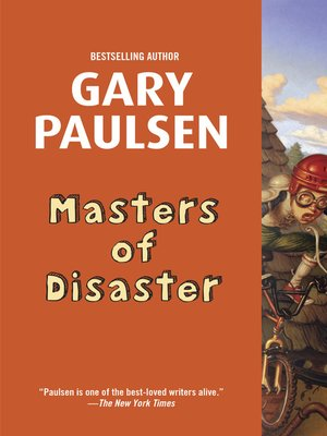 Click this cover for a(n) eBook sample of Masters of Disaster