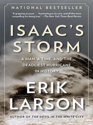 Click this cover for a(n) eBook sample of Isaac's Storm.
