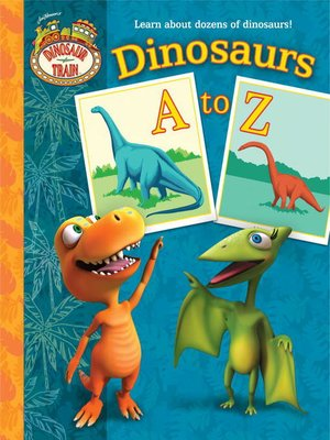 Click this cover for a(n) eBook sample of Dinosaurs a to Z