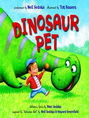 Click this cover for a(n) eBook sample of Dinosaur Pet.