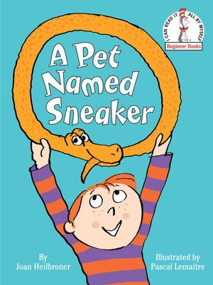 Click this cover for a(n) eBook sample of A Pet Named Sneaker