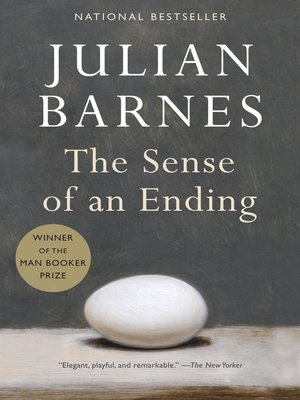 Click this cover for a(n) eBook sample of The Sense of an Ending.
