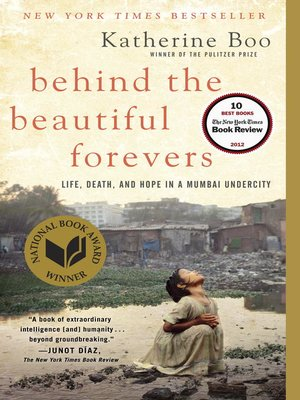 Click this cover for a(n) eBook sample of Behind the Beautiful Forevers.
