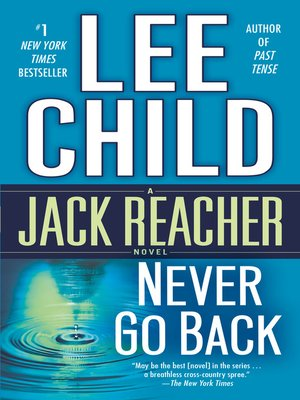 Click this cover for a(n) eBook sample of Never Go Back.