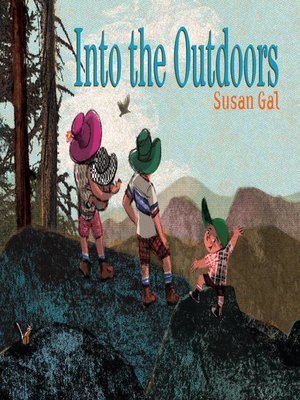 Click this cover for a(n) eBook sample of Into the Outdoors.