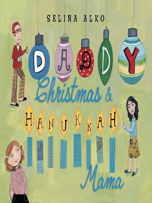 Click this cover for a(n) eBook sample of Daddy Christmas and Hanukkah Mama