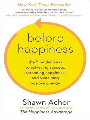 Click this cover for a(n) eBook sample of Before Happiness.