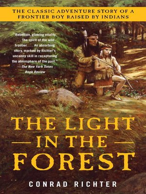 Click this cover for a(n) eBook sample of The Light in the Forest.
